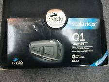 Scala Rider Q1 Passenger Intercom Communication System for Harley & Other Makes