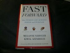 Fast Forward Book AUTOGRAPHED by Melanie Verveer