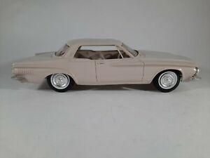 Vtg 1962 Jo-Han Chrysler Dart 440 Friction Promo Plastic Car