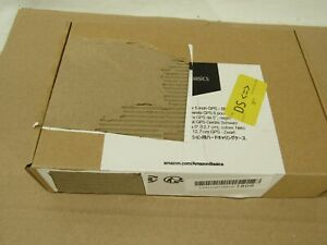 Amazon Basics Hard Travel Carrying Case for 5 Inch GPS, Black, New Open Box
