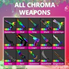Murder Mystery 2 MM2 Chroma Set Godly (Roblox) Very Rare - Quick Delivery