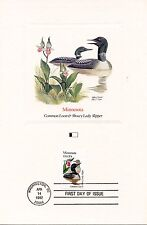 FIRST DAY OF ISSUE / FDC / OISEAUX & FLEURS DES 50 ETATS DES USA / MINNESOTA