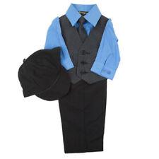 Abbigliamento blu formale in poliestere per bimbi