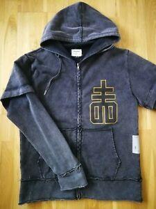 Drop dead flunked hoodie - Size M