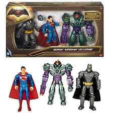Paquete De 3 Figuras De Batman Vs Superman Batman, Superman, Lex Luthor Action Figuras de juguete