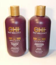 Chi Profond brillance Olive et monoi Optimum Shampooing 355ml + après-shampooing