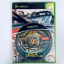 Test Drive: Eve of Destruction (Microsoft Xbox, 2004) no manual Tested and works