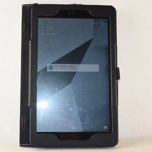 "Amazon Fire HD 8 8"" 16GB, Wi-Fi Tablet 7th Generation Blue w Black Ztotop Bundle"