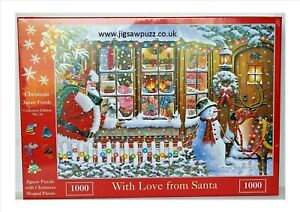 With Love From Santa New Release Christmas 1000 House of Puzzles Jigsaw Puzzle