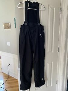 HELLY HANSEN THE WATERPROOF BREATHABLE HELLY TECHNOLOGY BIB SHELL PANT EXCELLENT