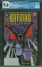 Batman Beyond Special Origin Issue #NN CGC 9.6 1st appearance Terry McGinnis 1