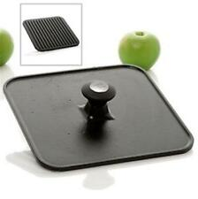 Todd English Collection Grill n Sizzle Cast Iron Press NEW
