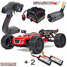 ARRMA #ar106030 Talion V3 6S BLX 4WD 1-8 Truggy RTR +2 Batteries 3 s 5400 Red