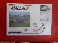 2002 MALLALA  MOTOR RACING AUSTRALIA P&S STAMP  FDC