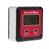 1x LCD Digital Inclinometer Spirit Level Box Protractor Angle Gauge Meter Finder