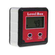 1x LCD Digital Inclinomètre Niveau à bulle Box Rapporteur Angle Gauge Meter Finder
