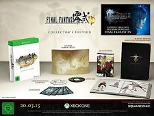 Final Fantasy Type - 0 HD Collectors Edition artbook manga Steelbook Xbox One nuevo