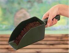 GRANDE GIARDINO in plastica mangimi scoop del suolo CONTENITORE Heavy Duty Strumento Giardinaggio Fioriera