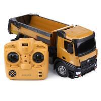 HUINA TOYS 1573 1/14 10CH Alloy RC Dump Trucks Car Toys Remote Control DP