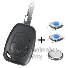 Coque PLIP Télécommande Clé Renault Trafic Kangoo + 2 Switch + Pile