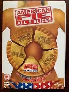 American Pie All 5 Slices DVD Box Set 1 2 3 Wedding + Band Camp + Naked Mile
