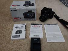 Canon Rebel T6 Digital SLR Camera (READY TO GO SHOOT SHOOT!)
