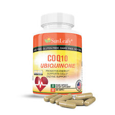Pure CoQ10  Max Strength For Healthy Heart FREE SHIPPING Worldwide