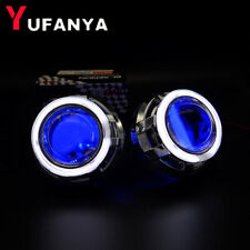 2.5'' Mini Bixenon Projector Lens 3.0'' CCFL Angel Eyes Shrouds fit H1 H4 H7 Car