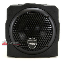 "Wet Sounds STEALTH AS-6 6"" Sealed Subwoofer Enclosure w/ 250W Built-In Amp *USED"