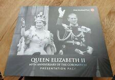 2013 Queen Elizabeth 11 60th Anniversary Coronation Presentation Stamp Pack