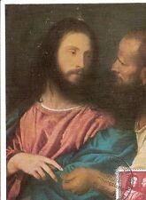 Maximum Card Maximumkarte Germany DDR Painter 1957 Titian Tiziano