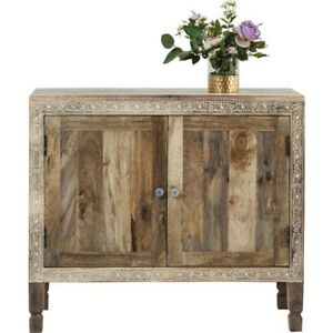 Vivid Village Art Contemporary Solid Wood Hand Painted Sideboard (MADE TO ORDER)