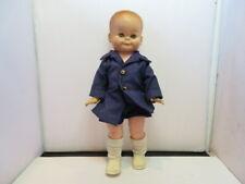 "Vintage 12"" Plastic/Rubber Buddy Lee Style Boy Doll"
