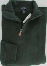 NWT Polo Ralph Lauren  Boy's Kids 1/4 Zip Sweater Bentley Green Size XL