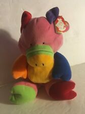 Baby Ty Little Piggy Pig Beanie Baby Pluffies Plush Stuffed Plush Animal TyLux