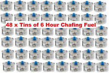 More details for 48 tins of 6 hour burn time deg chafing fuel. 200g tins free delivery low price