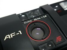 ~ SERVICED + FILM TESTED ~ Olympus AF-1 35mm Point & Shoot Film Camera ~ mju ii
