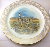 "Lenox Natures Nursery Collectors Dinner Plate 10 5/8"" Llamas Lynn Chase"
