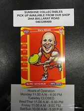 2014 AFL TEAMCOACH MAGIC WILD CARD MW-08 GARY ABLETT SUNS