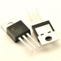 10Pcs LM317 LM317T TO-220 Adjustable Spannungsregler Voltage Regulator