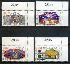Bundespost 1411 - 1414 gestempeld (3)