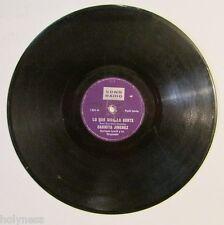 CARMITA JIMENEZ / PAPELES / LO QUE DIGA LA GENTE / 78 RPM / RARE