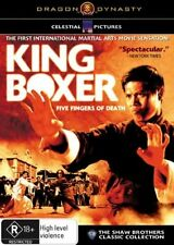 King Boxer (DVD, 2007) // subtitles // category stickers on sleeve