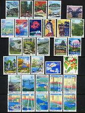 Japan Prefecture Series, 4 Sets Used Z275-Z284 Z285-Z291 Z292-Z301 Z458-Z461*