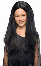 Child Morticia Addams Family Costume Wig