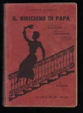 Henny Koch IL BIRICHINO DI PAPA' Solmi 1924 ill.. E. Abbo pres. Grazia Deledda
