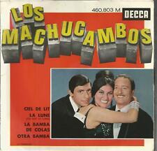 45 TOURS 4 TITRES /LES MACHUCAMBOS CIEL DE LIT B16