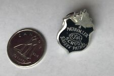 CAA Patroller Safety Patrol Lapel Souvenir PIN
