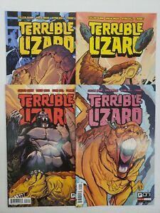 TERRIBLE LIZARD #1-4 COMPLETE SET ~ VF-NM 2014 ONI PRESS ~ CULLEN BUNN STORY