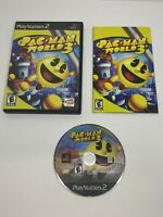 Pac Man World 3 Sony PlayStation 2 PS2 Black Label Complete